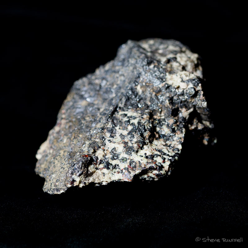 Mineral in visible light