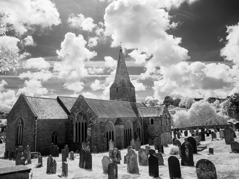 IR Slapton Church